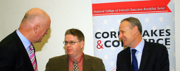 Brian Lucey at Corn Flakes and Commerce in National College of Ireland