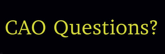 CAO-Questions