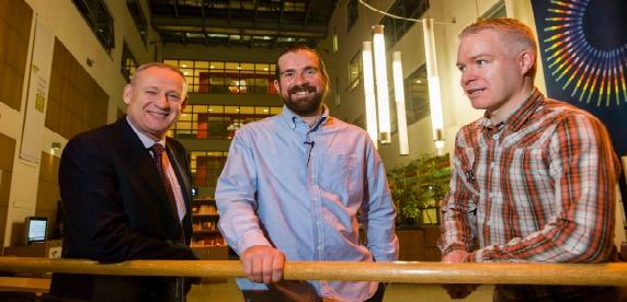 Dan-Germain-with-NCIs-Director-of-Student-Recruitment-Robert-Ward-and-Metro-Heralds-Paul-Crosbie