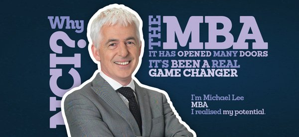 Michael Lee studied the MBA at National College of Ireland