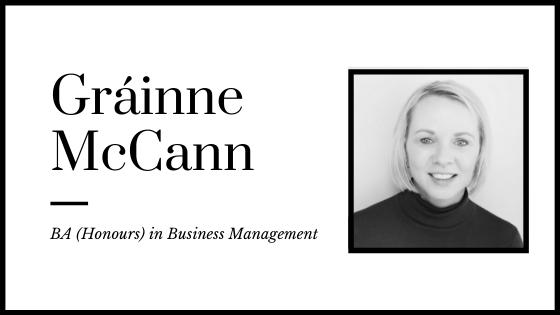 Accelerated Business Degrees - Grainne McCann