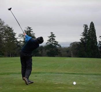 Ethan, NCI Sport Scholar and Golfer