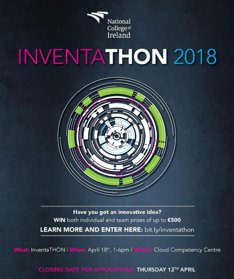Inventathon 2018 Poster