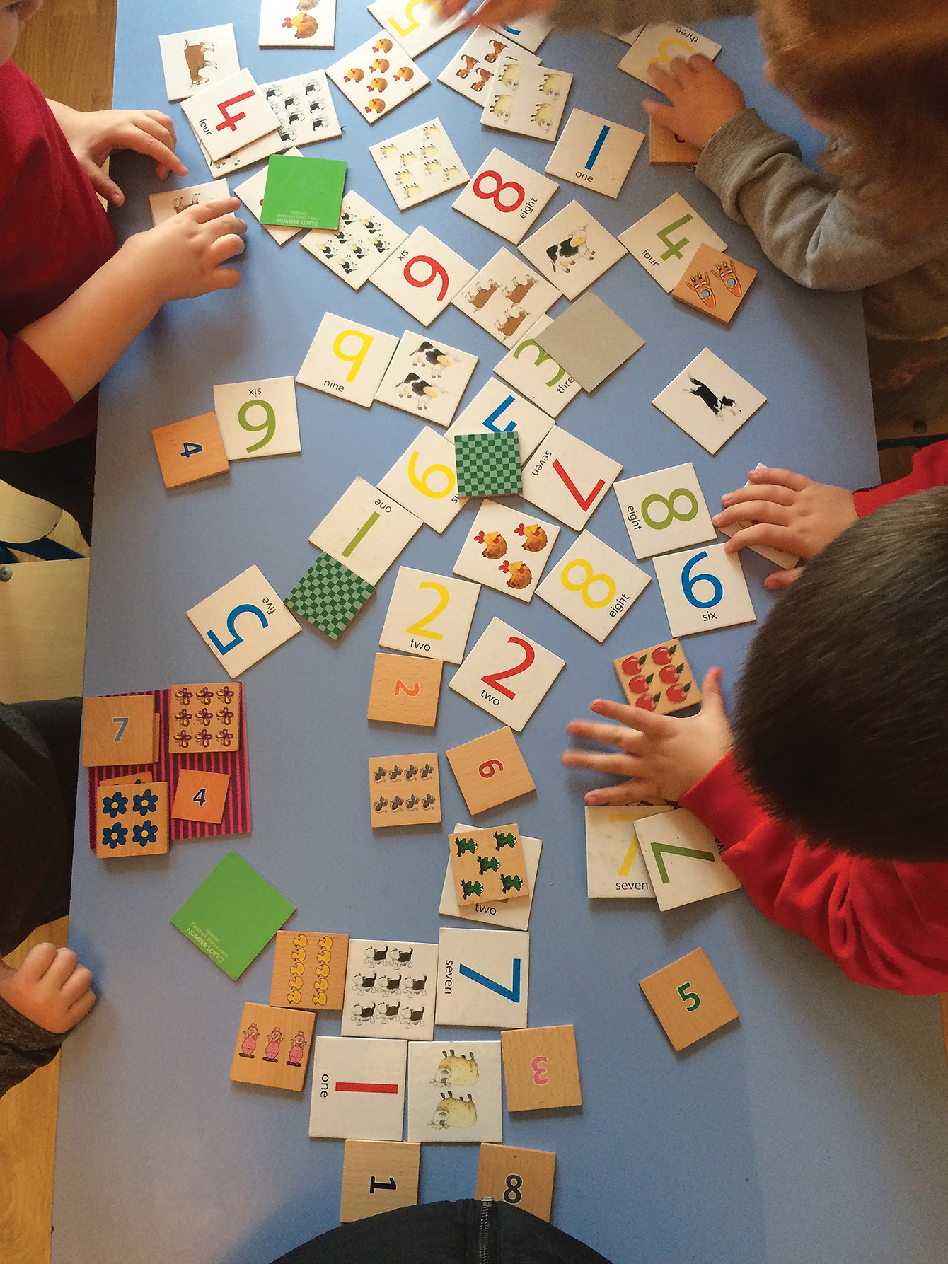 R1 IMAGE Number play in Ringsend Creche