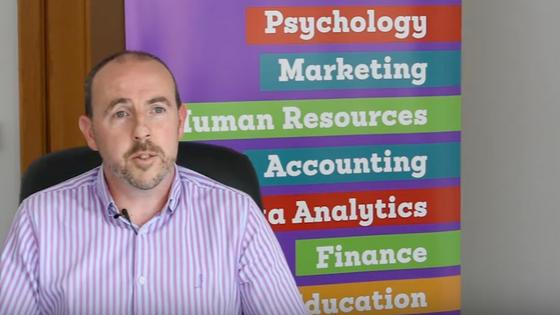 Data Analytics Graduate Darren Malone